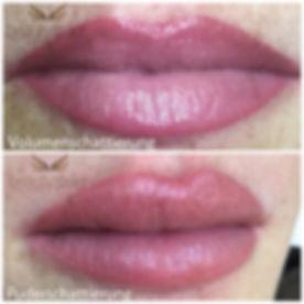 Lippen Permanent Make-up Volumenschattierung Vollschattierung Puderschattierung Volumen Powder Lips Long Time Liner by Felicia Cramer