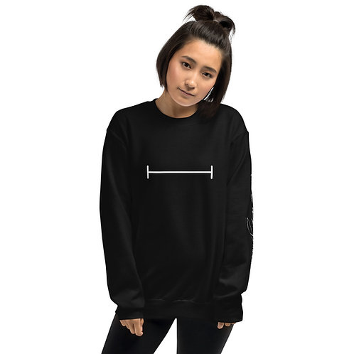 TAKE UP SPACE icon sweatshirt