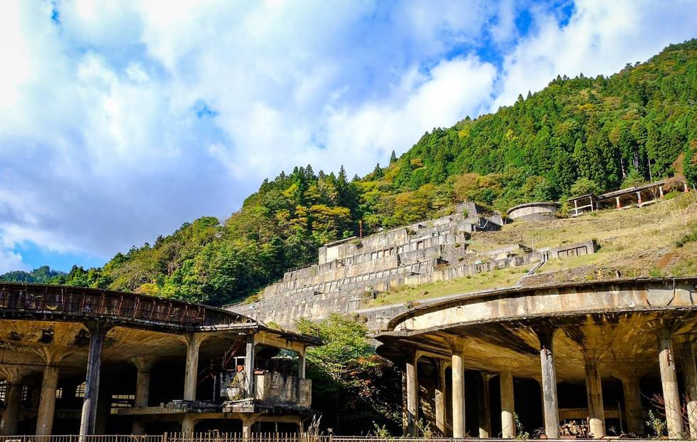 神子畑選鉱場跡 Remains of Kamikohata