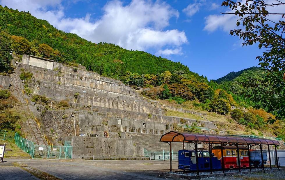 神子畑選鉱場跡 Remains of Kamikohata concentrator