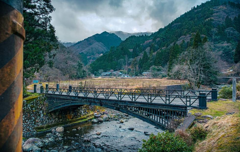 神子畑鋳鉄橋 Kamikohata Cast Iron Bridge