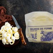 Beurre salé 250g de La Ferme Flémal