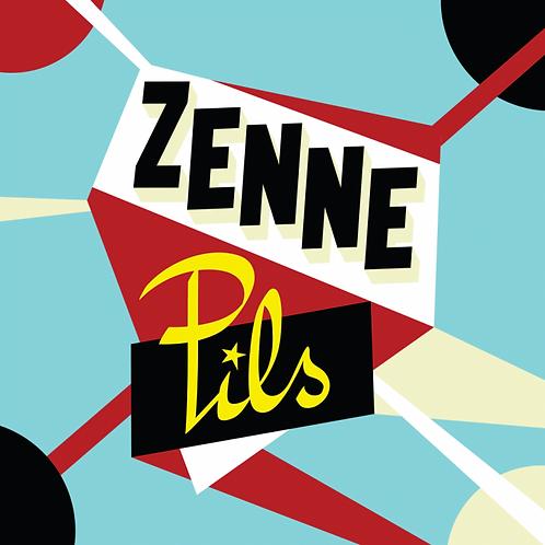 Caisse de 24x33cl de Zenne Pils 33cl - Brasserie de la Senne