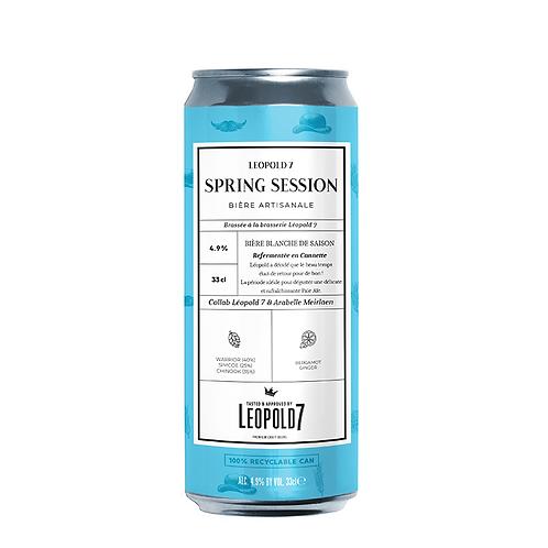 Spring Session 33cl - Brasserie Léopold