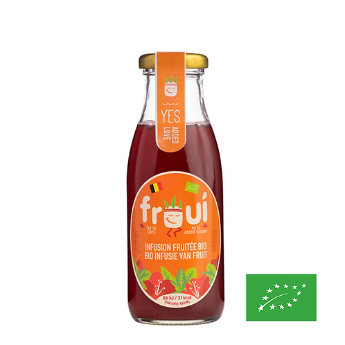 Infusion Hibiscus Menthe 25cl - BIO - Froui