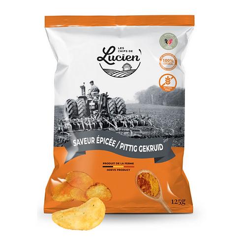 Chips saveur épicée - Les Chips de Lucien