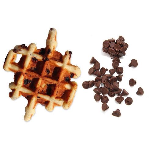 Les Gaufrines aux Pépites de Chocolat - La Gaufrine