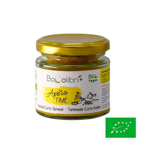 Tartinade Curry indien - Bio - Bocolibri