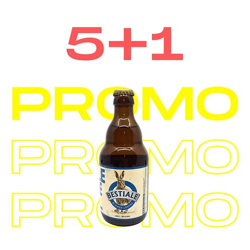 PROMO 5+1 La Bestiale Légère 33cl - Bestiale
