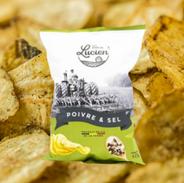 Chips poivre et sel des Chips de Lucien