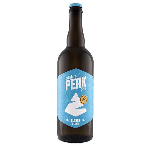 Peak Blonde 75 cl - Brasserie Peak