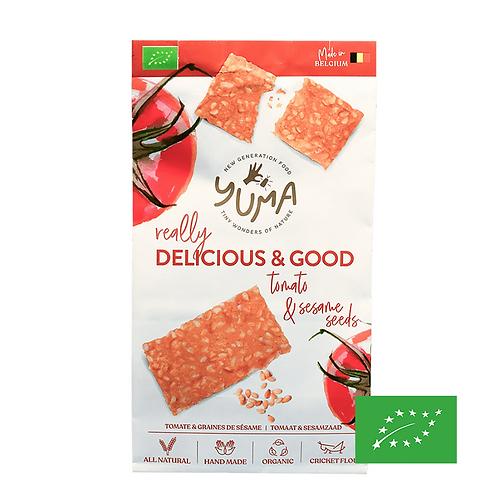 Crackers Tomate & Graines de Sésame - Yuma Food