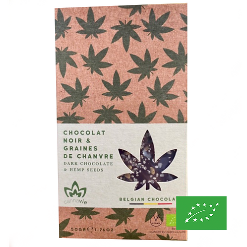 Chocolat Noir au Chanvre - BIO - Cannavie 50g