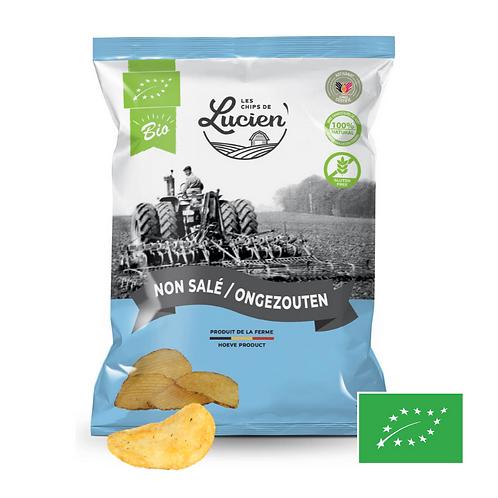 Chips Non Salé - Bio - Les Chips de Lucien