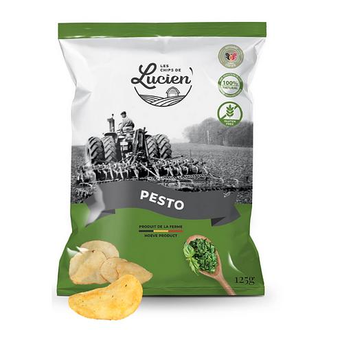 Chips pesto - Les Chips de Lucien
