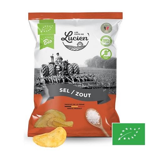 Chips Sel - Bio - Les Chips de Lucien