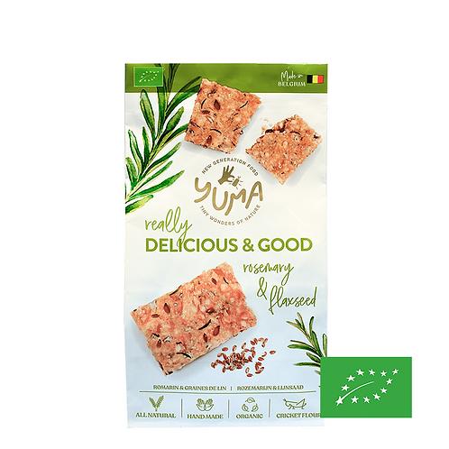 Crackers Romarin & Graines de Lin - Yuma Food