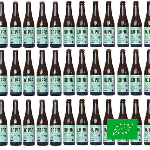 100PAP Bio 24x33cl - Bière Solidaire