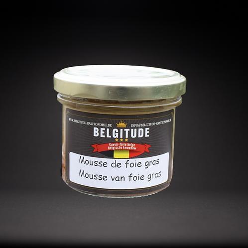 Mousse de Foie Gras 100g - Belgitude gastronomie