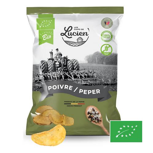 Chips Poivre - Bio - Les Chips de Lucien