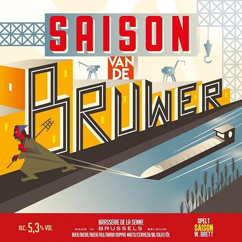 Caisse de 24x33cl de Bruwer 33cl - Brasserie de la Senne