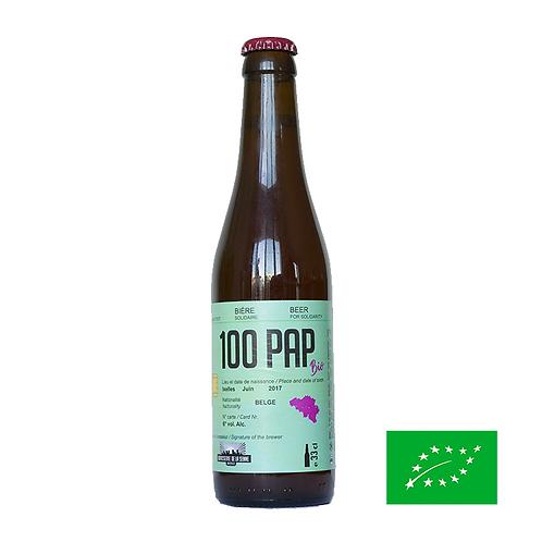 100PAP Bio 33cl -  Bière Solidaire