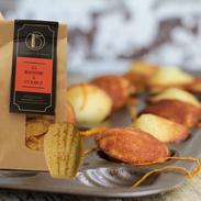 La madeleine à l'orange de La Biscuiterie de Thorembais