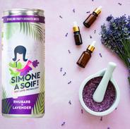 Simone à soif Rhubarbe lavende