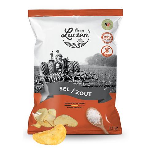 Chips légèrement salé - Les Chips de Lucien