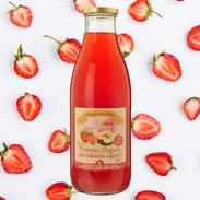 Jus de pommes-fraises du Verger de la Chise