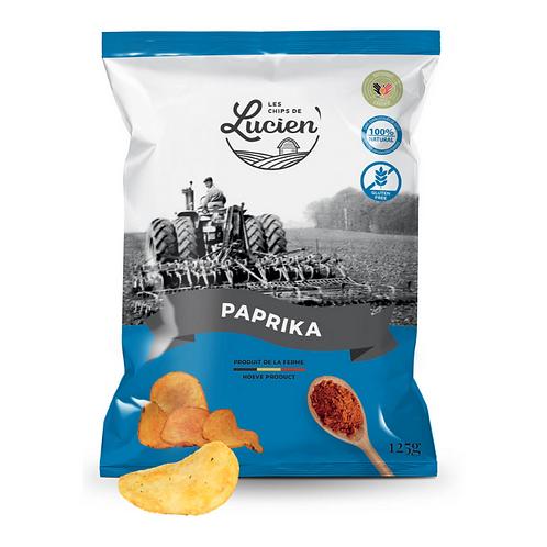 Chips paprika - Les Chips de Lucien