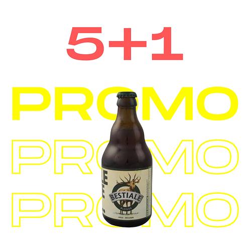 PROMO 5+1 La Bestiale Blonde 33cl - Bestiale