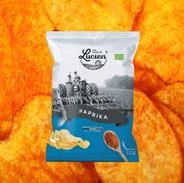 Chips paprika des Chips de Lucien
