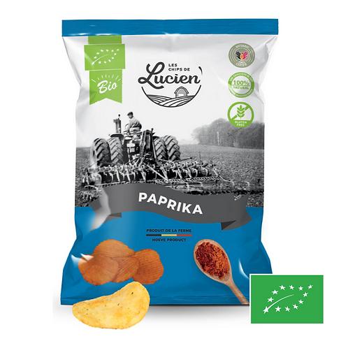 Chips Paprika - Bio - Les Chips de Lucien
