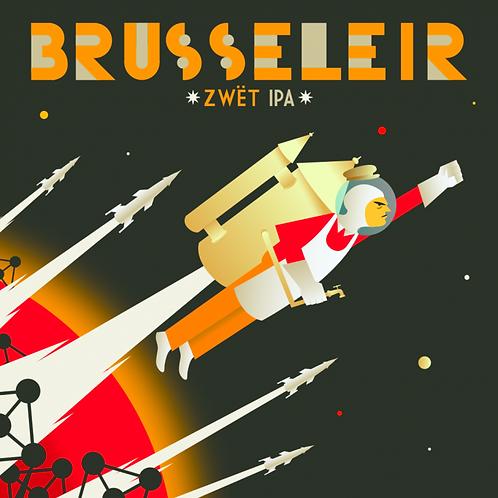 Caisse de 24x33cl de Brusseleir 33cl - Brasserie de la Senne