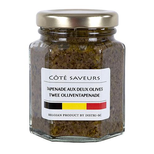Tapenade aux deux olives 110 ml - Côté saveurs