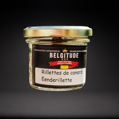 Rillettes de canard 100g - Belgitude gastronomie