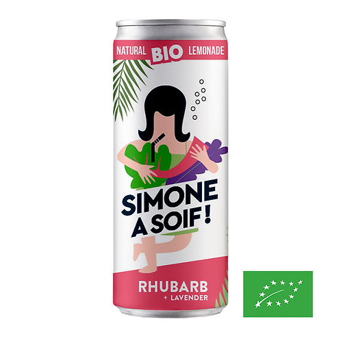 Simone à soif - Rhubarbe Lavande 25cl
