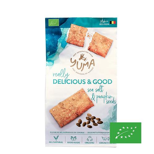 Crackers Fleur de Sel & Graines de Courge - Yuma Food