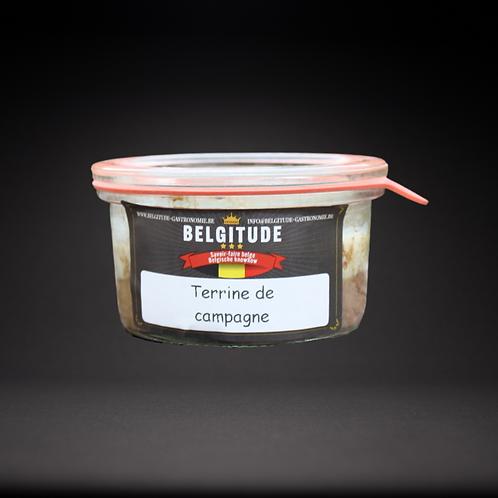 Terrine de Campagne 120g - Belgitude gastronomie