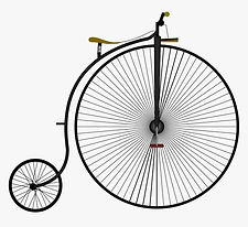 131-1318468_penny-farthing-png-transpare