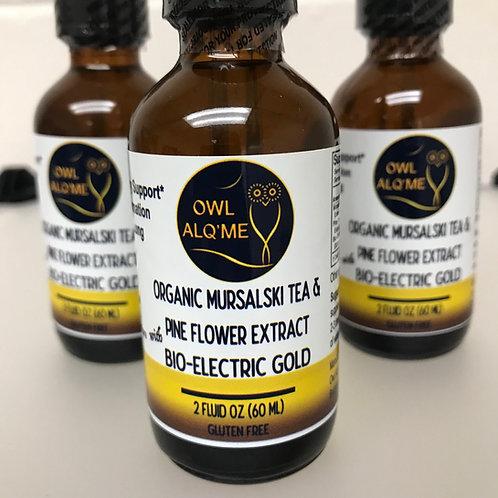 Mursalski Tea & Pine Flower extract with Bio-Electric Gold
