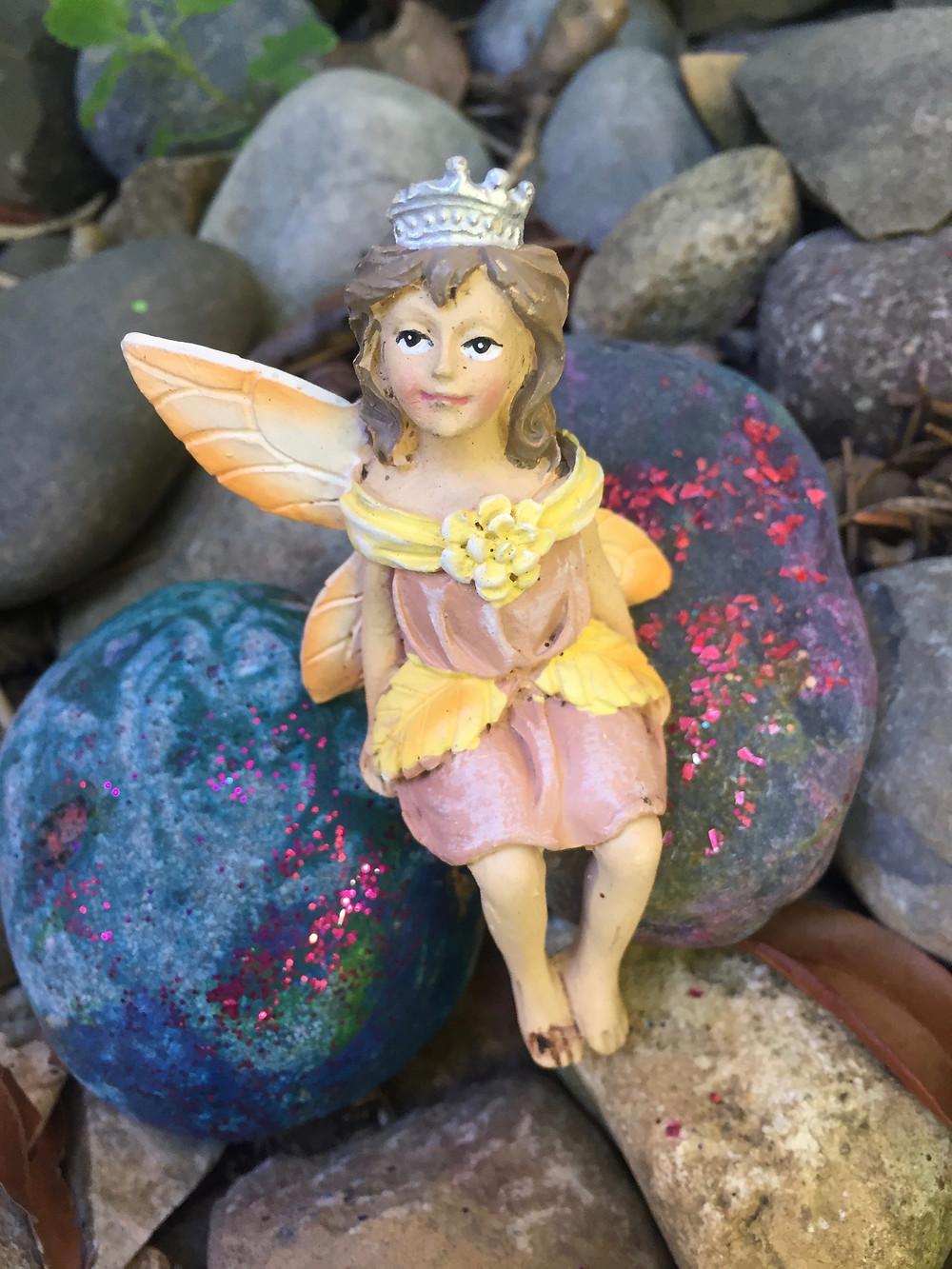 Lucky garden fairy