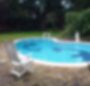 Saliva to fill swiming pool