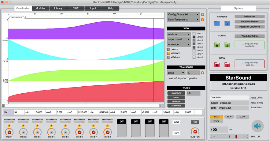 StarSound Pulse Sonification video