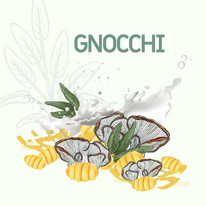 Gnocchi rôti aux pleurotes