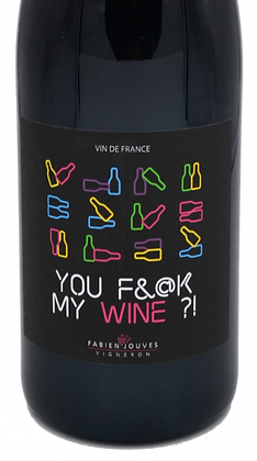 You Fuck my Wine , Nature 2019   Fabien Jouves