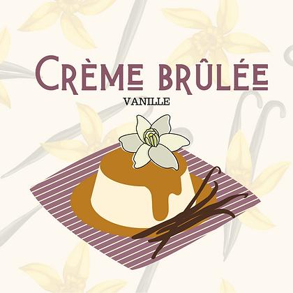 """Crème brûlée """"vrai vanille"""""""