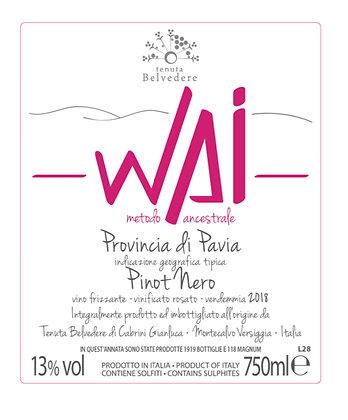 Wai, bulle rosé, Tenuta Belvedere
