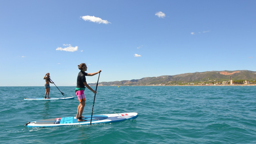 Stand Up Paddle Tour Castelldefels